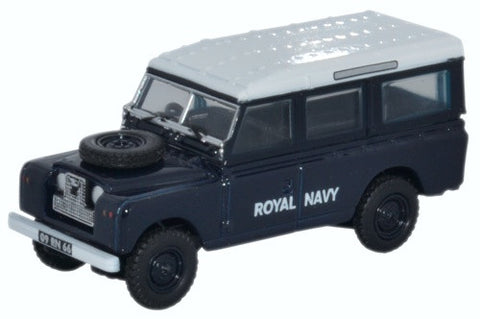 Oxford Diecast Land Rover Series II Station Wagon Royal Navy