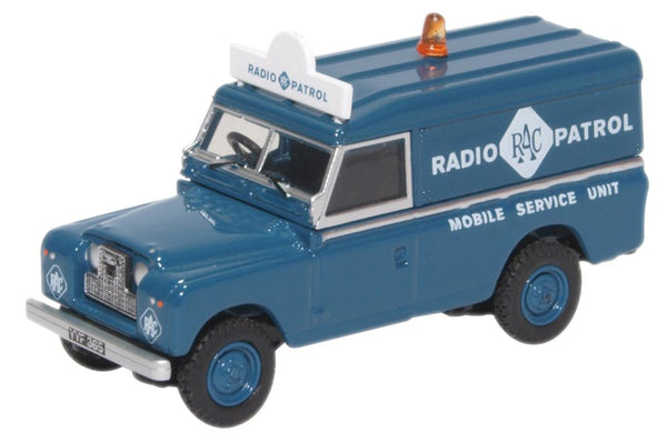 Oxford Diecast Land Rover Series II LWB Hard Top RAC Radio Patrol