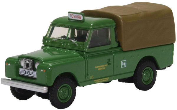 Oxford Diecast Land Rover Series II LWB Canvas Southdown