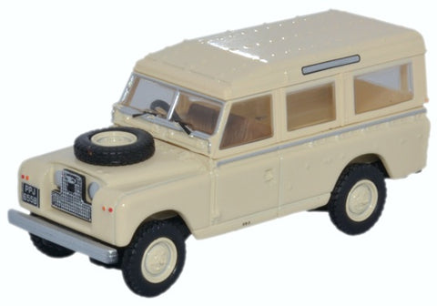 Oxford Diecast Land Rover Series II LWB Station Wagon Limestone