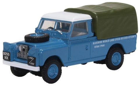 Oxford Diecast Land Rover Series 2 LWB Bluebird Land Speed Record