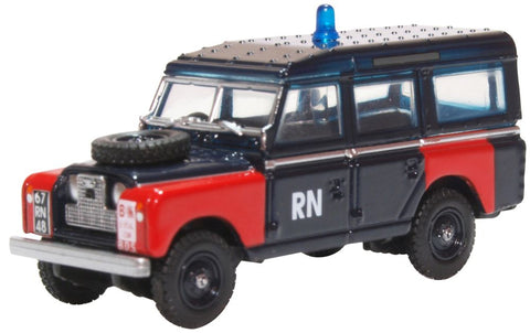 Land Rover Series II LWB Station Wagon, Royal Navy Bomb Disposal (1:76 OO Scale)