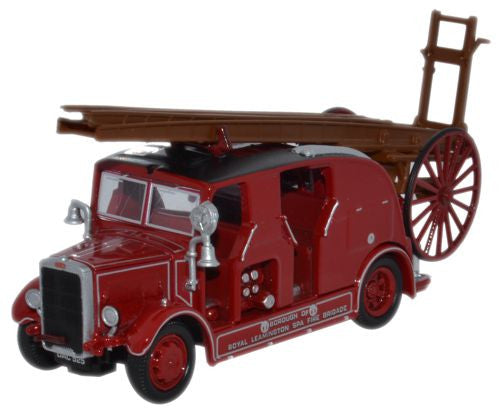 Oxford Diecast Leyland Cub FK7 Leamington Fire Brigade - 1:76 Scale
