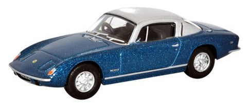 Oxford Diecast Lotus Elan Plus 2 Lagoon Blue Silver - 1:76 Scale