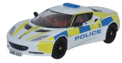 Oxford Diecast Lotus Evora Central Motorway Patrol Group - 1:76 Scale