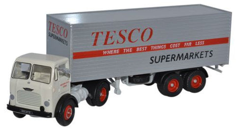 Oxford Diecast Leyland Octopus Box Trailer Tesco