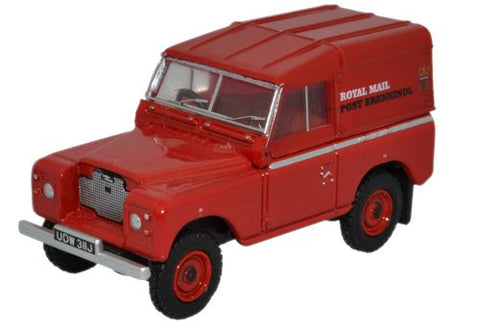 Oxford Diecast Land Rover Series IIA Swb Hard Top Royal Mail - Brehinol