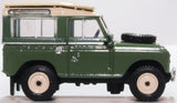 Oxford Diecast Land Rover Series IIA Station Wagon Pastel Green