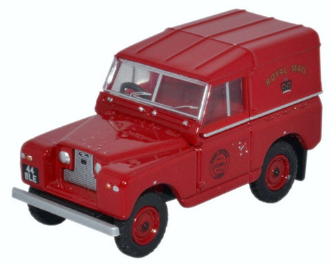 Oxford Diecast Land Rover Series II SWB Hard Back Royal Mail