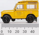 Oxford Diecast Land Rover Series II SWB Post Office Telephones Yellow