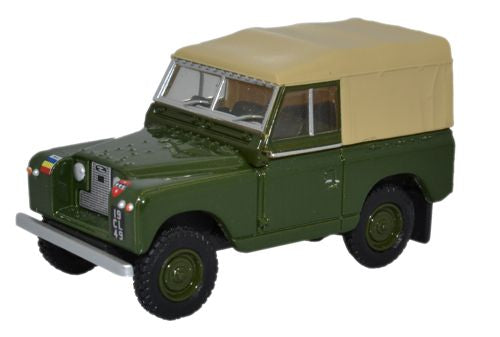 Oxford Diecast Land Rover Series II SWB Canvas REME