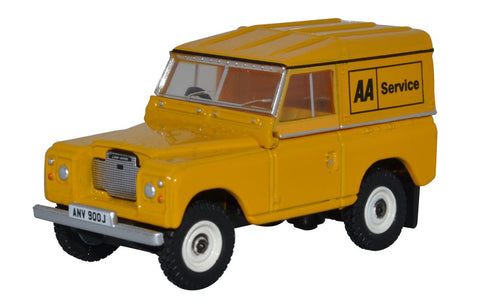 Oxford Diecast Land Rover Series III Hard Top AA