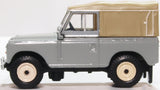 Oxford Diecast Land Rover Series III Canvas Mid Grey