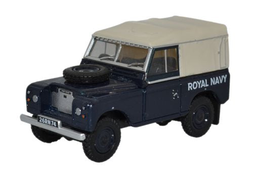 Oxford Diecast Land Rover Series III SWB Canvas Royal Navy