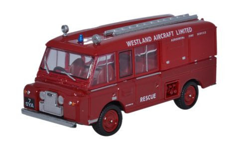 Oxford Diecast Land Rover FT6 Carmichael Westland Aircraft Ltd - 1:76