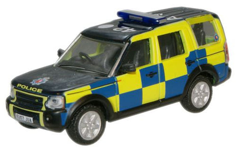 Oxford Diecast Essex Police Land Rover Discovery - 1:76 Scale
