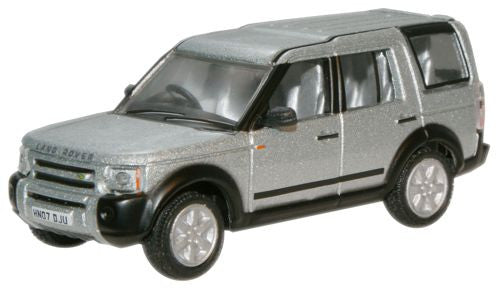 Oxford Diecast Zermatt Silver Land Rover Discovery - 1:76 Scale