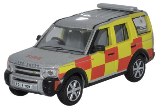 Oxford Diecast Nottinghamshire F and R Land Rover Discovery - 1:76 Sca