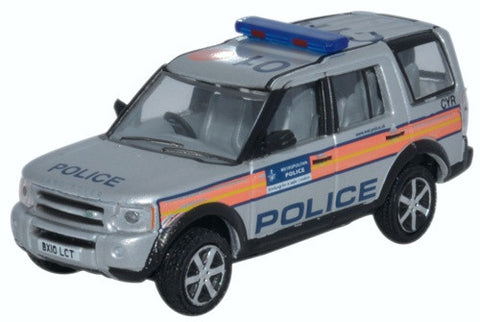 Oxford Diecast Land Rover Discovery 3 Police