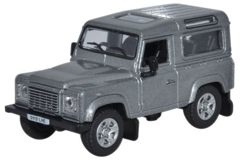 Oxford Diecast Land Rover Defender 90 Station Wagon Orkney Grey - 1:76