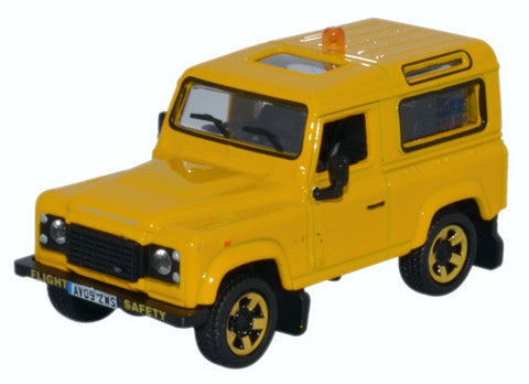 Oxford Diecast Land Rover Defender 90 RAF Flight Safety