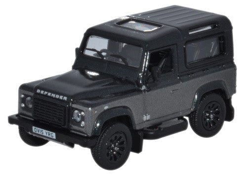 Oxford Diecast Land Rover Defender 90 Corris Grey Autobiography