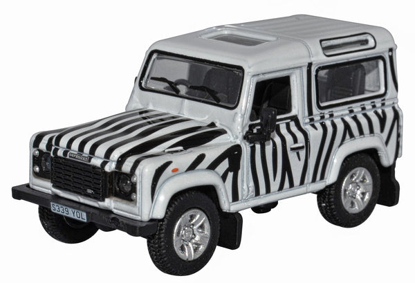 Oxford Diecast Safari Land Rover Defender 90