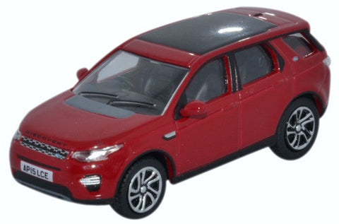 Oxford Diecast Land Rover Discovery Sport Firenze Red