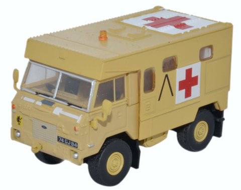 Oxford Diecast Land Rover FC Ambulance Gulf War Operation Granby 1991