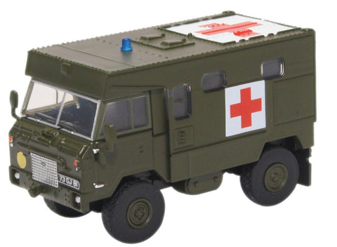 Oxford Diecast Land Rover FC Ambulance Nato Green