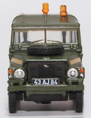 Oxford Diecast Land Rover Lightweight RAF 1:76