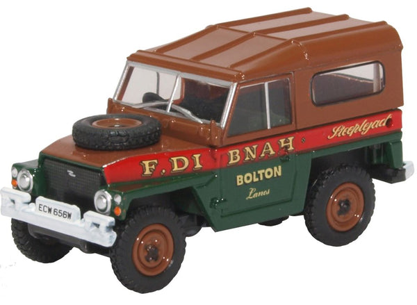 Land Rover Lightweight Hard Top Fred Dibnah