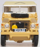 Oxford Diecast Land Rover Lightweight Gulf War
