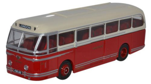 Oxford Diecast Leyland Royal Tiger Coach North Western - 1:76 Scale