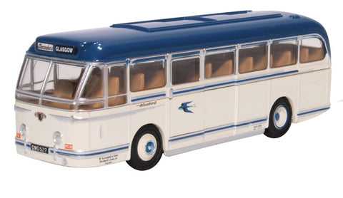 Oxford Diecast Leyland Royal Tiger Alexander Bluebird