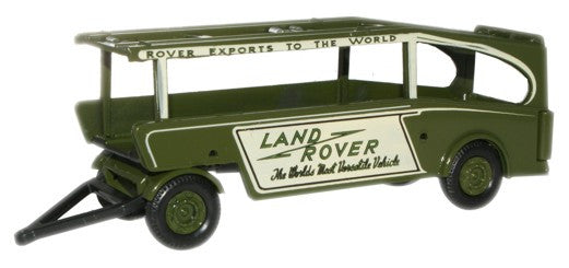 Oxford Diecast Rover Car Transporter Trailer - 1:76 Scale