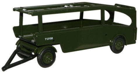 Oxford Diecast Post Office Car Transporter Trailer - 1:76 Scale