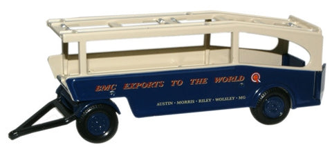 Oxford Diecast BMC Car Transporter Trailer - 1:76 Scale