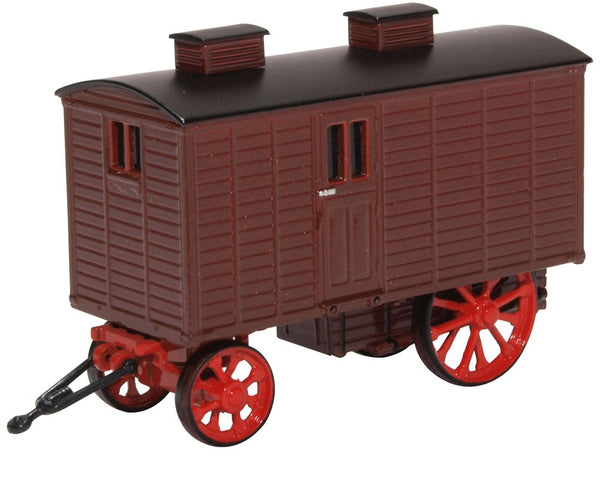 Oxford Diecast Living Wagon Maroon Red