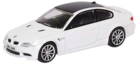 Oxford Diecast BMW M3 Coupe E92 Mineral White