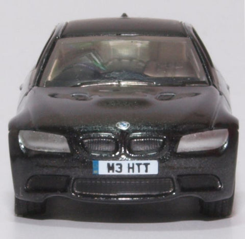 Oxford Diecast BMW M3 Coupe E92 Jerez Black