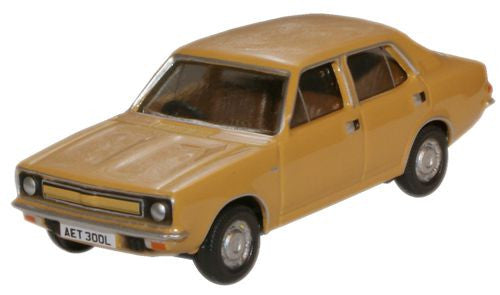 Oxford Diecast Harvest Gold Morris Marina - 1:76 Scale