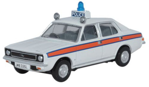 Oxford Diecast Morris Marina Cheshire Police - 1:76 Scale