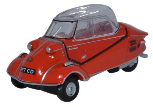 Oxford Diecast Messerschmitt KR200 Bubble Car Rouge Sarde - 1:76 Scale