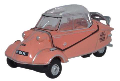 Oxford Diecast Messerschmitt KR200 Bubble Top Rose - 1:76 Scale