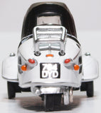 Oxford Diecast Messerschmitt Bubble Car Polar White