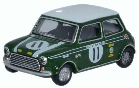 Oxford Diecast Mini Cooper S MKII John Rhodes 1968 Brands Hatch