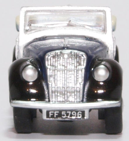 Oxford Diecast Morris Eight E Series Tourer Dark Blue