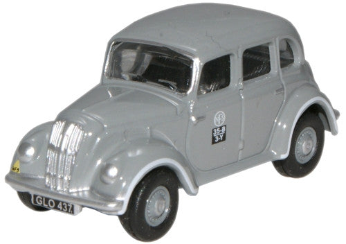Oxford Diecast National Fire Service Morris Eight E Series Saloon - 1: