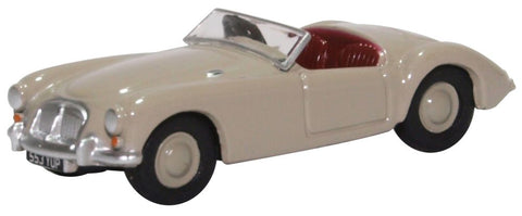 Oxford Diecast MGA Dove Grey 1:76